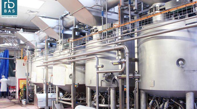 Cuiseur mélangeur industriel