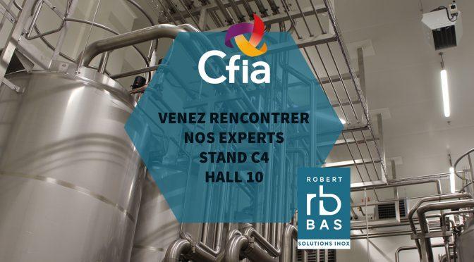 CFIA Rennes 2018 Robert Bas innove