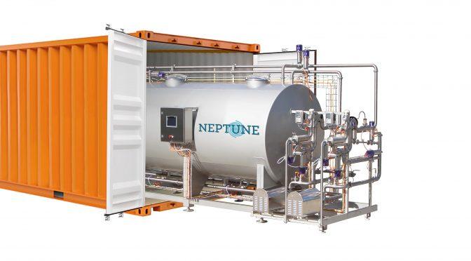 Nettoyage en place NEP CIP NEPTUNE photo dans conteneur