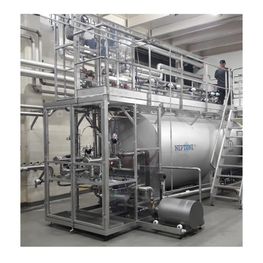NEP usine Badoit Saint-Galmier